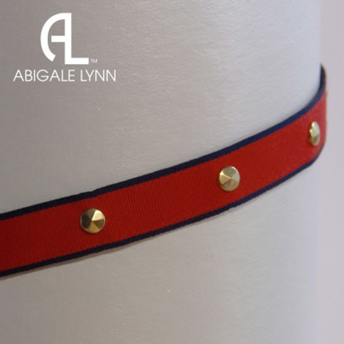 Abigale Lynn Visor Band - Polo Stripe 2