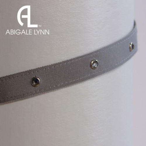 Abigale Lynn Visor Band - Grey Solid