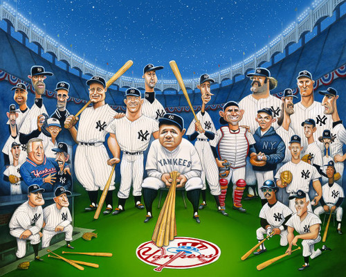 David O'Keefe: Tribute to The Legends of the Yankees