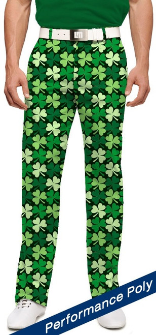 Loudmouth Golf: Mens StretchTech Pants - Sham Totally Rocks*