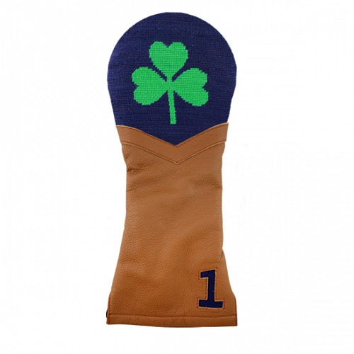Smathers & Branson: Driver Headcover - Shamrock Needlepoint