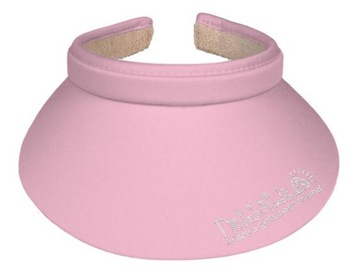 Titania Golf: Women's Clip on Visor - Diamonds Are A Girls Best Friend