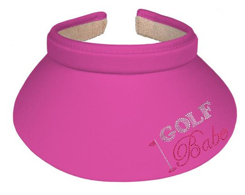 Titania Golf: Women's Clip on Visor - Golf Babe
