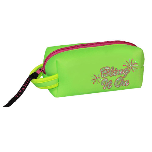 Titania Golf: Neon Cosmetic Bag - Bling It On