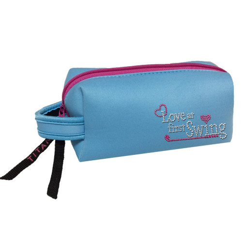 Titania Golf: Neon Cosmetic Bag - Love At First Swing