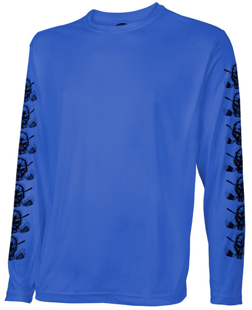 Tattoo Golf: Men's Long Sleeve Undershirt - Blue