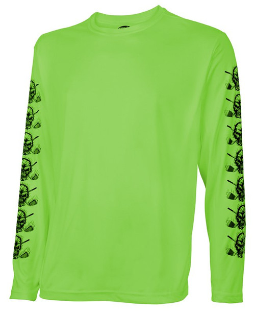Tattoo Golf: Men's Long Sleeve Undershirt - Lime