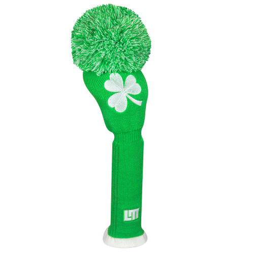Just 4 Golf: Loudmouth Headcover Driver - Shamrocks