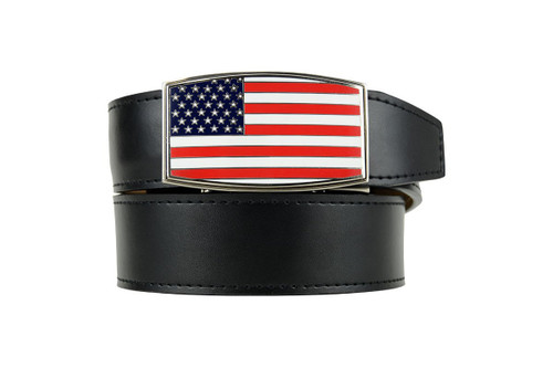 Nexbelt: Men's Heritage Series Golf Belt - USA Aston Black
