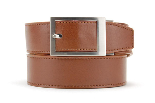 Nexbelt: Men's Essential Classic Series Dress Belt - Walnut