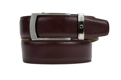 Nexbelt: Men's Portifino Series Dress Belt - Cordovan
