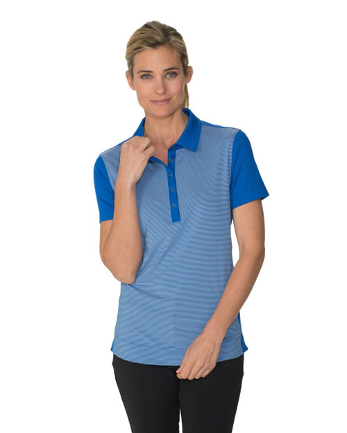 Chase 54: Women's Short Sleeve Polo - Lounge