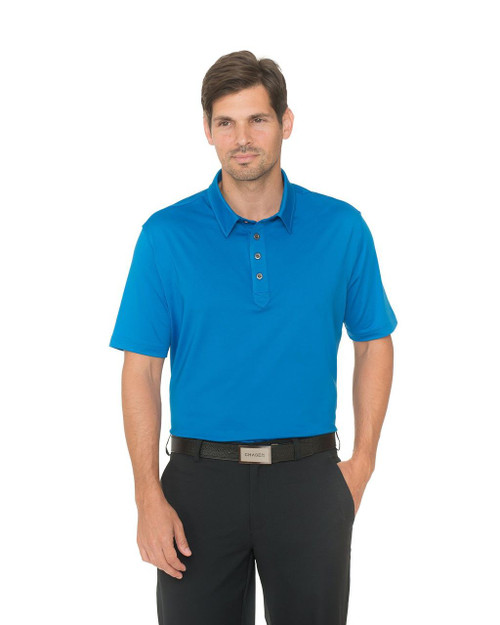 Chase 54: Men's Short Sleeve Polo - Gravity