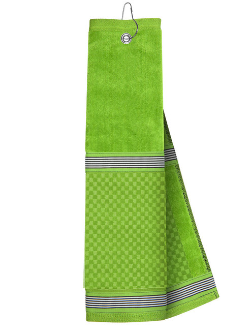 Just 4 Golf: Lime Towel with Ribbon