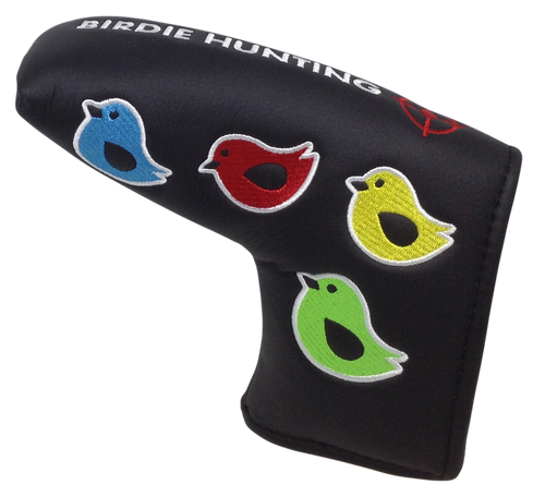 Birdie Hunting Embroidered Putter Cover - Blade by ReadyGOLF