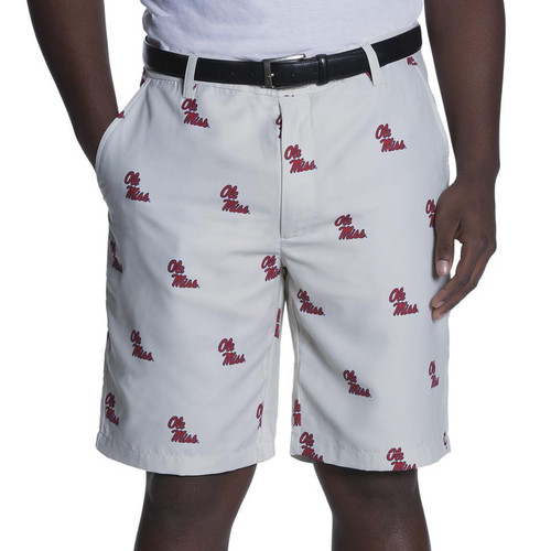 Ovation: Men's Game Changer Shorts - University of Mississippi Ole Miss (Size 36) - SALE