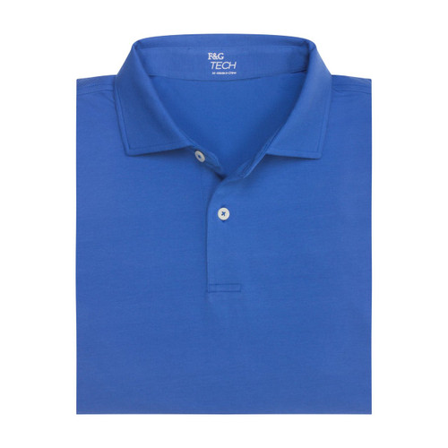 Fairway & Greene: Men's Solid Natural Jersey Polo