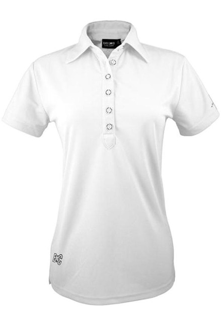 Black Clover: Ladies Basic Luck Polo - White