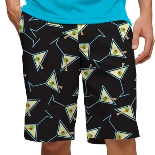 Loudmouth Golf: Men's StretchTech Shorts - Tee Many Martoonies