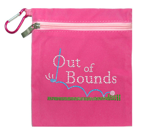 Titania Golf: Women's Accessory Bag - Out of Bounds