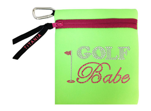 Titania Golf: Neon Carryall Bag - Golf Babe