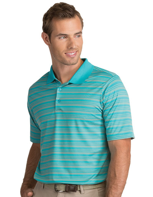 Antigua: Men's Performance Short Sleeve Polo - Liquid 104082 (Seaglass/Sandalwood) XL - SALE