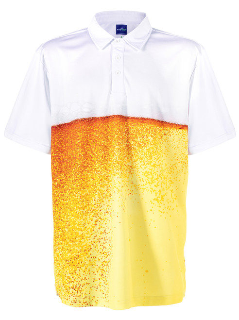 Beer Belly Mens Golf Polo Shirt by ReadyGOLF