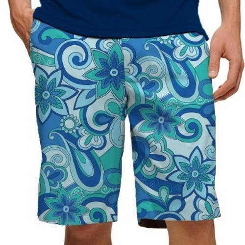 Loudmouth Golf: Men's StretchTech Shorts - Summer of Love*
