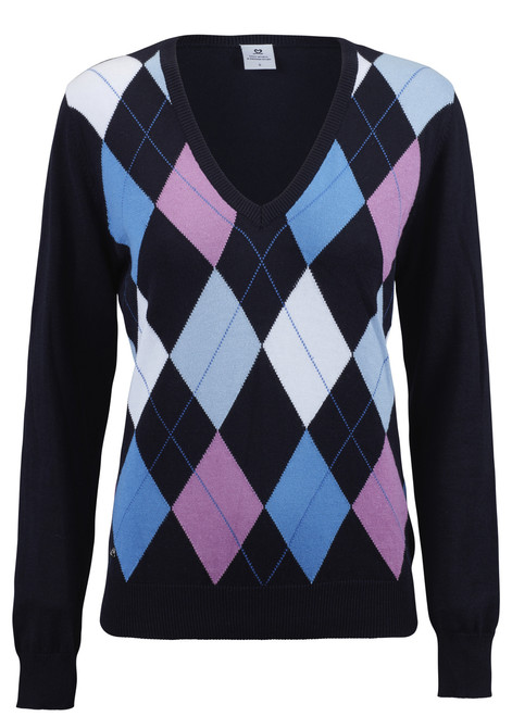 Daily Sports: Women's Jamila Pullover - Navy (Large) - SALE