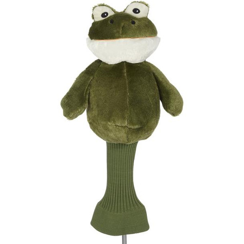 Creative Covers: Fairway the Frog Golf Headcover