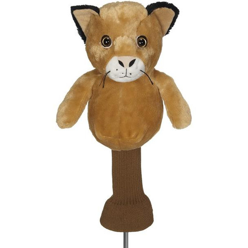 Creative Covers: Chip the Cougar Golf Headcover
