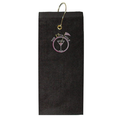Titania Golf: Women's Golf Towel - 19th Hole