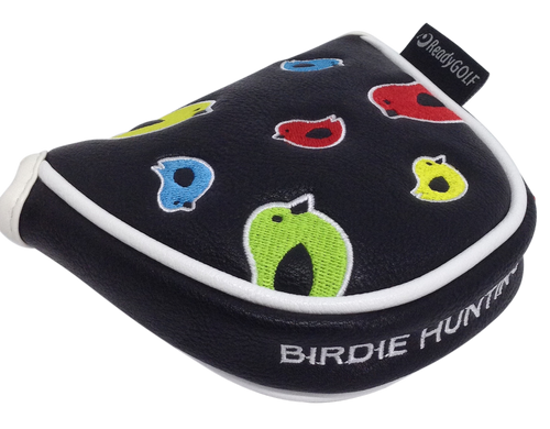 Birdie Hunting Embroidered Putter Cover by ReadyGOLF - Mallet