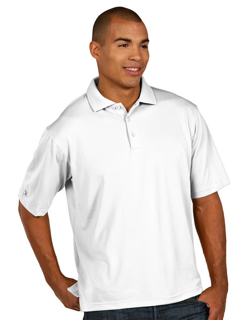 Antigua: Men's Essentials Short Sleeve Polo - Pique Xtra-Lite Tall 104257