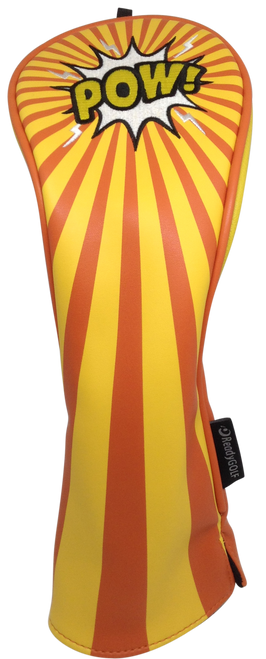 ReadyGolf: Embroidered Fairway Headcover - POW!