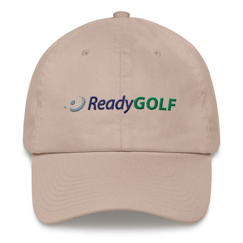 ReadyGolf: Embroidered Logoed Adjustable Golf Hat