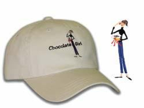 The Girls Ladies Fit Cap - Chocolate Girl by Imperial Headwear