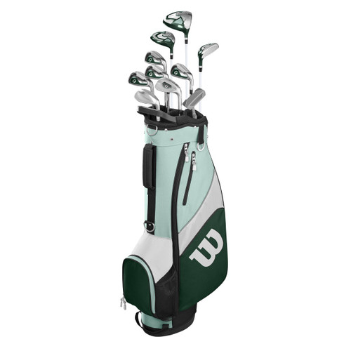Wilson: Women's Complete Golf Club Set Cart Bag - Profile SGI
