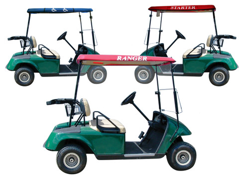 Club Pro: Golf Cart Accessory - Ranger Cap *Expected to Ship Late November*
