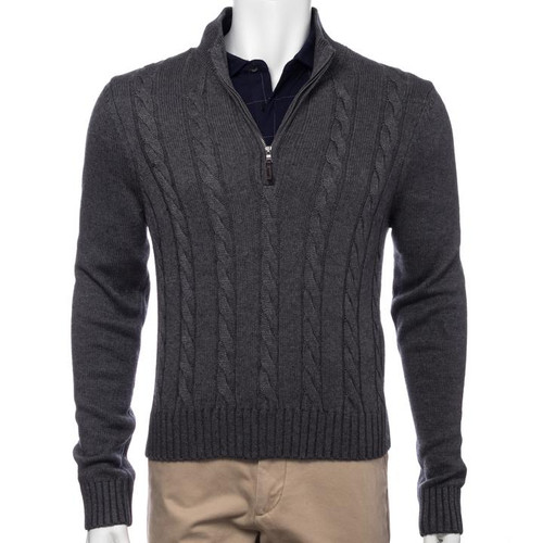 Fairway & Greene: Men's The Sahara Cable 1/4 Zip