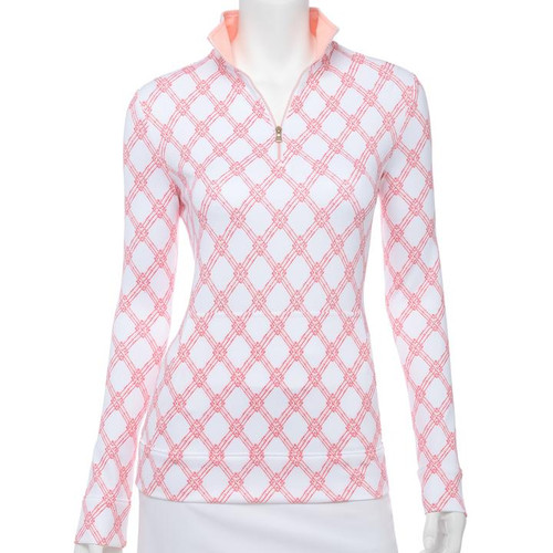 Fairway & Greene: Women's Zoey Quarter Zip
