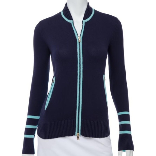 Fairway & Greene: Women's Row Baseball Cardigan