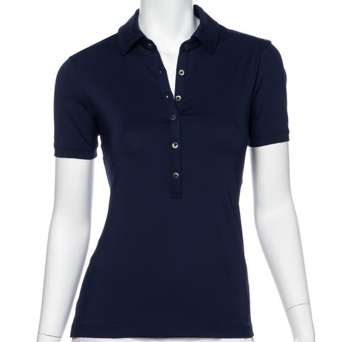 Fairway & Greene: Women's Sarah Made In The USA Jersey Polo