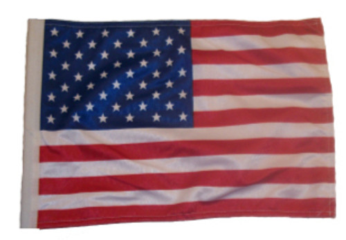 SSP Flags: 11x15 inch Golf Cart Replacement Flag - USA