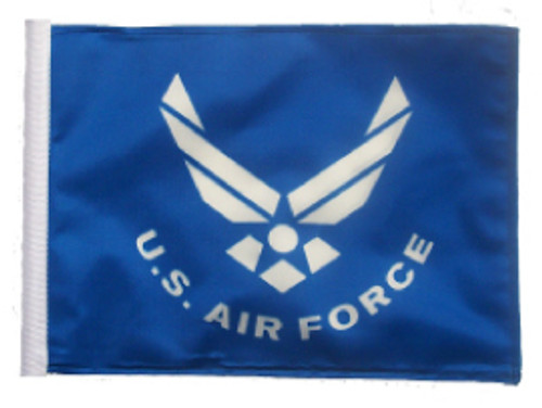 SSP Flags: 11x15 inch Golf Cart Replacement Flag - Licensed Air Force