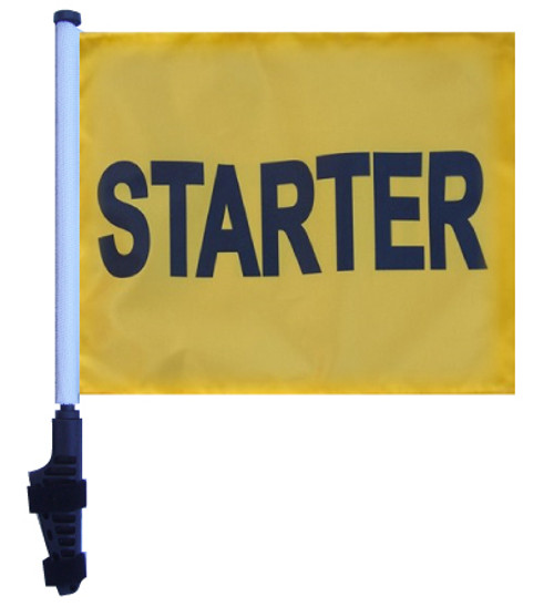 SSP Flags: 11x15 inch Golf Cart Flag with Pole - Starter