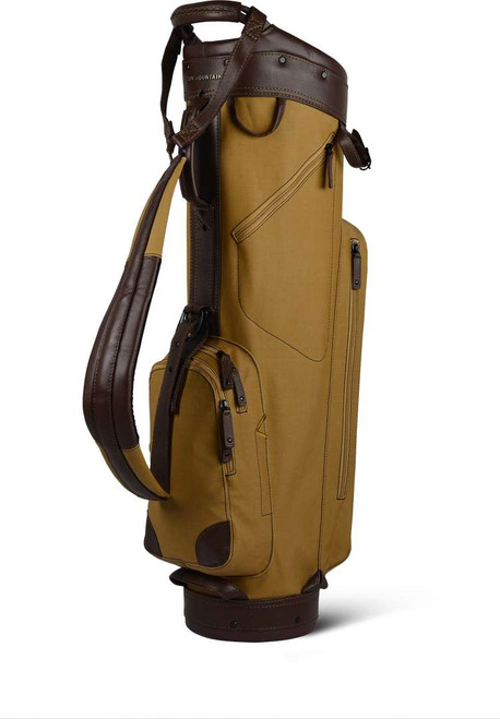 Sun Mountain: Men's Canvas/Leather Cart Bag