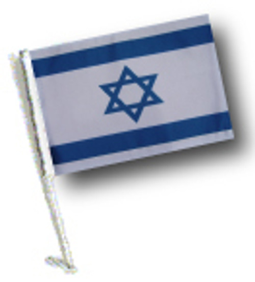 SSP Flags: Car Flag with Pole - Israel