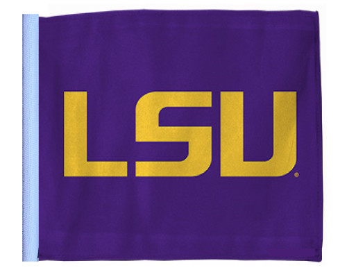 SSP Flags: University 11x15 inch Flag Variety - Louisiana State LSU Tigers (Purple Background)