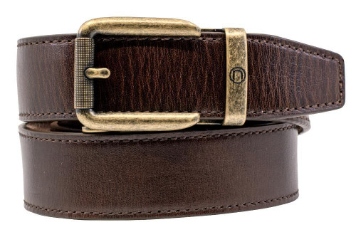 Nexbelt: Men's Vintage Golf Belt - Bourbon